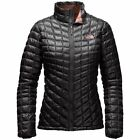 THE NORTH FACE NWT Thermoball Women's Full Zip Jacket TNF Black/Rose Dawn