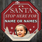 FIRST CHRISTMAS GIFT IDEA SANTA STOP HERE FOR NAME AND PHOTO