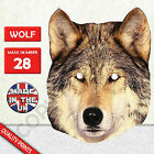 Wolf Cardboard Face Mask Made In The UK Fast Dispatch