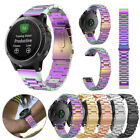 Genuine Stainless Steel Strap Quick Replacement Band For Garmin Fenix 5 Watch UK