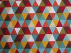 Multi Triangles on 100% cotton fabric from Riley Blake's 'Giraffe Crossing'