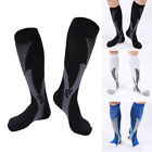 New Men's Sports Knee Stockings High Compression Socks for Running, Fitness, Gym
