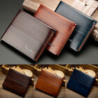 Mens PU Leather Soft Wallet Credit Card Case Holder Bifold Purse Slim Gents