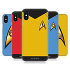 OFFICIAL STAR TREK UNIFORMS AND BADGES TOS BACK CASE FOR APPLE iPHONE PHONES
