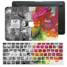 Brain Pattern Laptop Hard Rubberized Case Keyboard Cover For New Macbook Pro Air