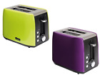 Quest Stainless Steel Two Slice Toaster Low Wattage Camping Caravan