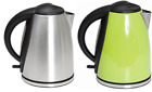 Quest 1.8L Litre Low Wattage Cordless Stainless Steel Camping Kettle 89930