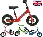 ' Childrens Kids Balance Bike Metal Boys Girls Kids Running Training Bike