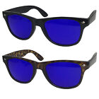 Golf Ball Finder Glasses True Blue Lens Sunglasses 80's Style Classic Retro