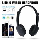 3.5mm Stereo Gaming Headset Headband Headphone with Mic For PC Computer Foldable