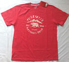 NWT! MENS THE NORTH FACE CREW YOSEMITE T-SHIRT S/S TNF RED CLASSIC FIT Sz L