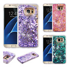 For Samsung Galaxy S7 EDGE Glitter Quicksand HARD Case Phone Cover Accessory