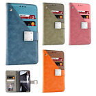 For Apple iPhone X Premium Front Pocket Wallet Case Pouch Cover + Screen Guard