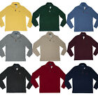 Men's POLO Ralph Lauren SWEATER Half Zip Sweatshirt S M L XL XXL Pony Longsleeve