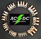 AC/DC WIRE Bare Copper Lug Ring Terminals Battery Wire Welding Cable AWG <br/> Choose Gauge Stud &amp; Pack Size FAST FREE Shipping for US