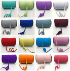 Внешний вид - 32 Color 5yards 8mm Multirole Satin Elastic Spandex Band Sewing Trim U Pick