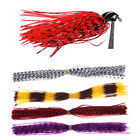 50/500 Strands Fishing Skirts Fish Jig Bass Lure Bait Spinner Silicone DIY Tool