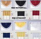 Kyпить 1PC VALANCE SWAG ROD POCKET FOAM LINED BLACKOUT WINDOW DRESSING CURTAIN DECOR  на еВаy.соm