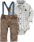 Carters Baby Boys 3-pc. Suspenders Layette Set