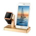 Charging Stand Mount Cradle Station Dock for Apple Watch and iPhone X 6 6s 5 7 8