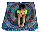 Indian Mandala Floor Cushion Cover Pillow Case Boho India Pet Dog Bed Covers New