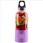 Colorful Juicer Water Bottle Cute Automatic Electric Shaker 500ML Fruit Blenders