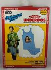 New Disney Star Wars Princess Leia UNDEROOS Underwear Shirt & Briefs Set S-2XL