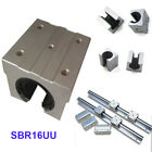 2/4 PCS SBR16UU 16mm Open Linear Bearing Slide Linear Motion CNC for Linear Rail