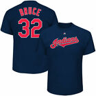 Cleveland Indians Majestic Mens Official Name And Number T-Shirt