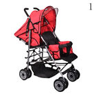 Adjustable New Baby Twin Tandem Double Stroller Twin Travel Pushchair Pram Buggy