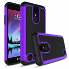 For LG Fortune/Phoenix 3/Rebel 2 Phone Case + Tempered Glass Screen Protector