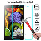 Premium Tempered Glass Screen Film Protection Case For Lenovo Tablet PC Android