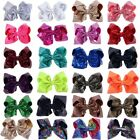 8 inch Large Sequin Hair Bow Alligator Clips Headwear Girls Hair Accessories