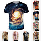 Funny Men's 3D Print Summer Short Sleeve Casual T-Shirts Top Tee Shirt Fashion