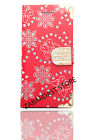 Fashion Leather Bling Crystal Diamond Wallet Book Case Cover For Mobile Phone