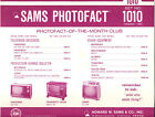 Sams Photofact Folder Set 1010 - TV Radio Phonograph