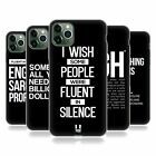HEAD CASE DESIGNS SASSY QUOTES SOFT GEL CASE FOR APPLE iPHONE PHONES