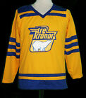 PELLE LINDBERGH TRE KRONER RETRO TEAM SWEDEN HOCKEY JERSEY SEWN NEW ANY SIZE