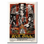 Kill Bill Movie Rockin Jelly Bean Mondo Art Silk Poster 12x18 24x36 24x43