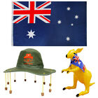 CORK HAT FLAG AND CHOOSE INFLATABLE AUSTRALIA DAY FANCY DRESS PACK AUSSIE KIT