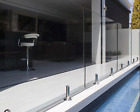 Frameless Glass Balustrade Spigots Hold 15mm Toughened Glass