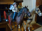 """Bonanza """"Hoss"""" with Horse & Horse Wagon and Extra Accessories"""