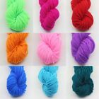 Colorful Soft Warm Wool Yarn Line Crochet Hook Knitting For Shoes Hat Knitting