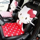 Car Seat Cover Hello Kitty Red Seat Covers Interior Accessories Pink Car Chair