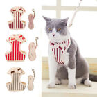 Pet Cat Leash & Harness Set Puppy Kitten Outdoor Vest Strap Adjustable Buckle