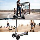 Folding Kick Scooter with Seat/3-Wheel Electric Scooter/Skate Scooter Skateboard