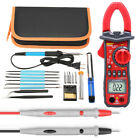 60W Adjustable Temperature Welding Soldering Iron Tool Kit W/ UA2008A Multimeter