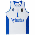 LaMelo Ball #1 LiAngelo Ball #3 Lithuania Vytautas Basketball Jersey Stitched