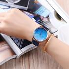 New Women Fashion Synthetic Leather Band Analog Quartz Wrist Watch EFFU 01