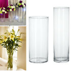 acrylic cylinder vases - Acrylic Cylinder Vase Clear Round Plastic Wedding Table Flowers Stander Decor